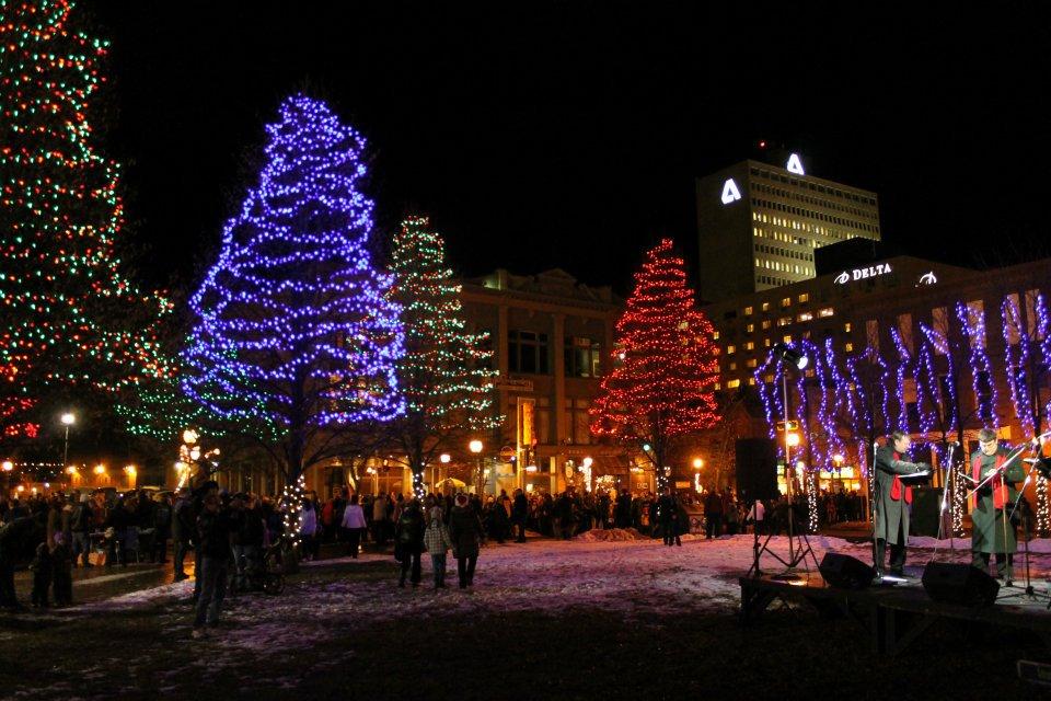 Christmas at Moncton City Hall 1