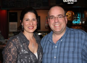 Kelley Mooney and Brian Cormier
