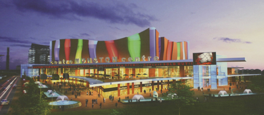 One of the possible concepts for the proposed Moncton Events Centre