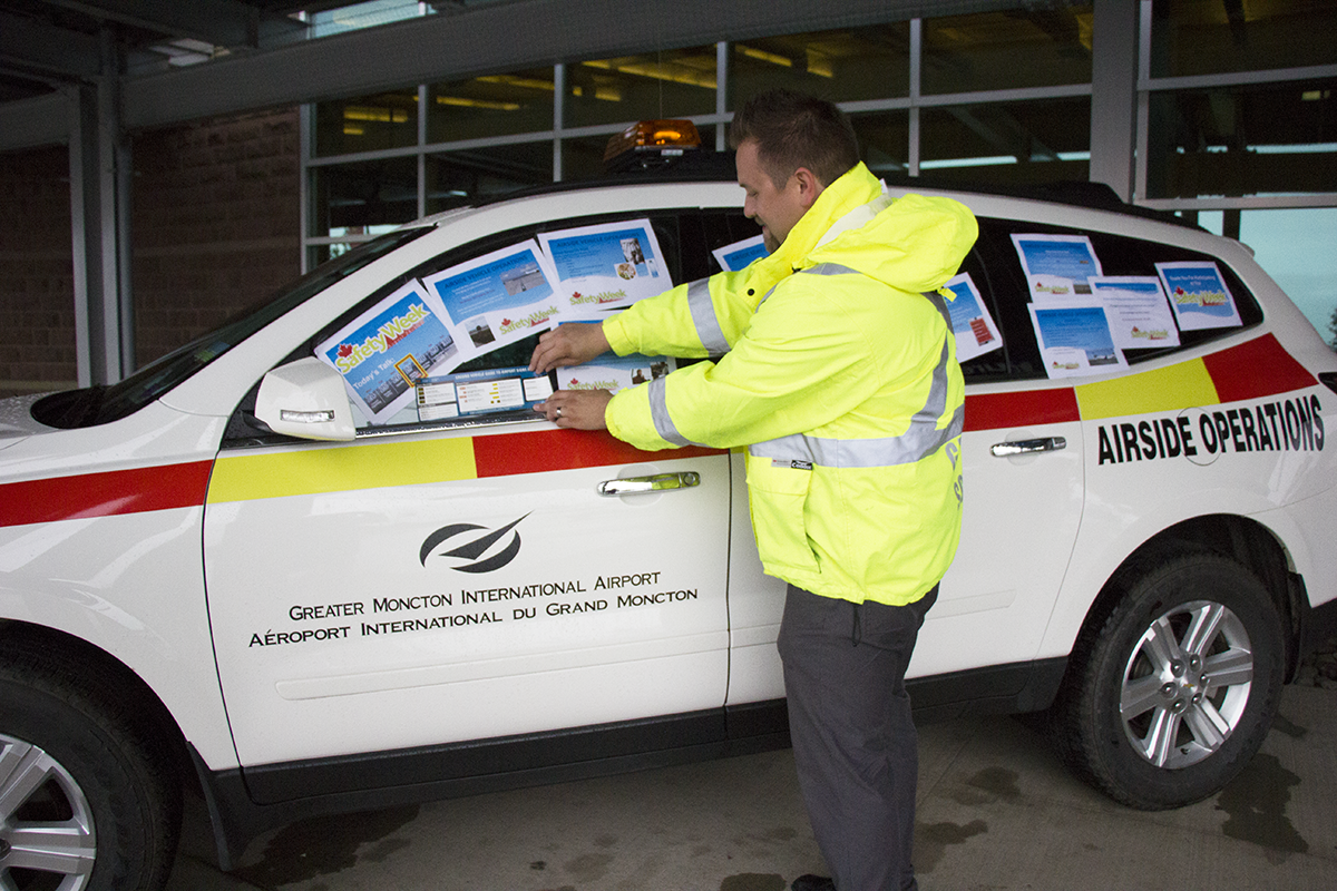 Greater Moncton International Airport - 2015 Canadian Airports Safety Week