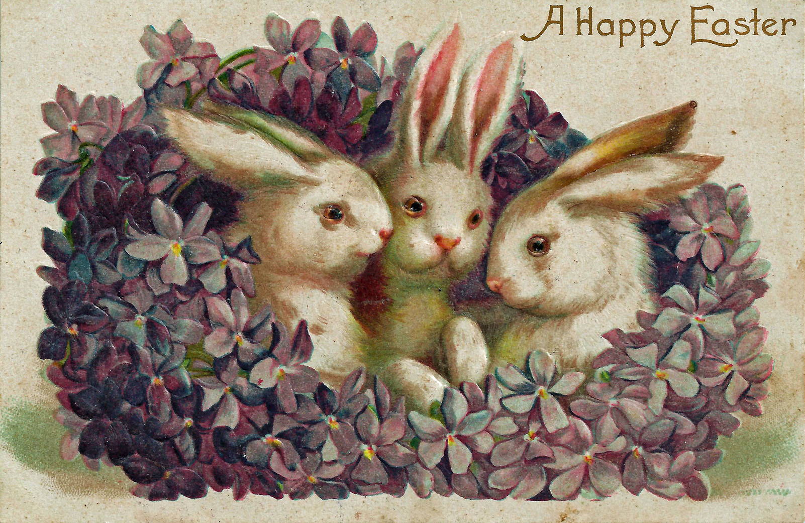 Happy Easter! Joyeuses Pâques!